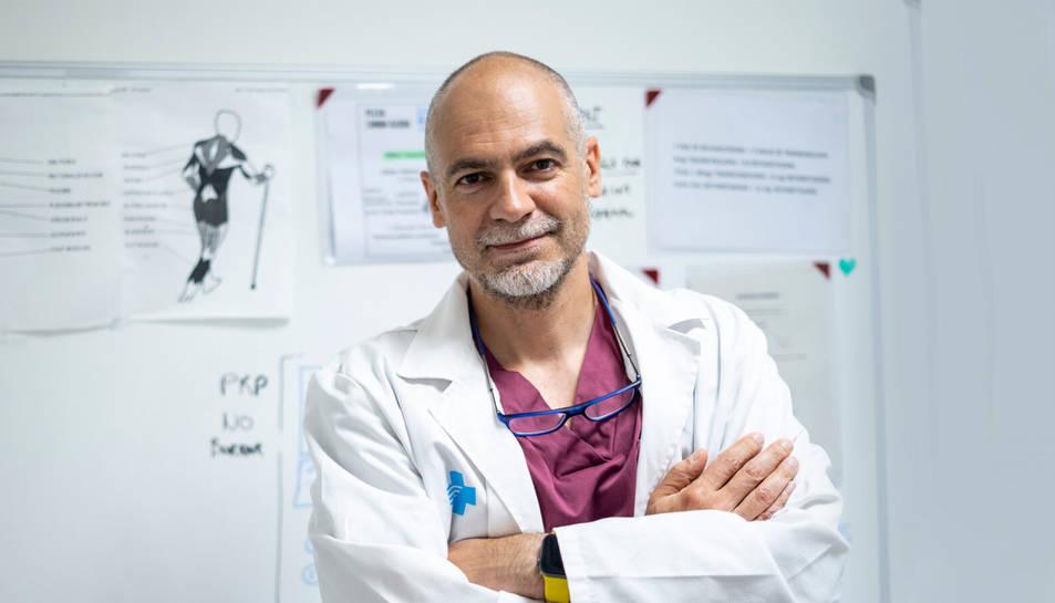 Sergi Boada Pié és especialista en Anestèsia, Reanimació i Tractament del Dolor