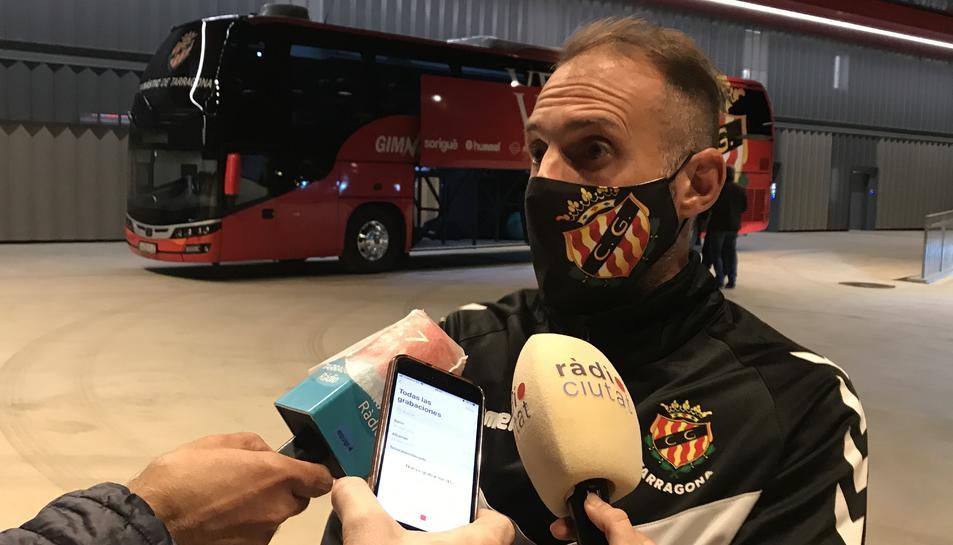 Joma, segon entrenador del Nàstic-