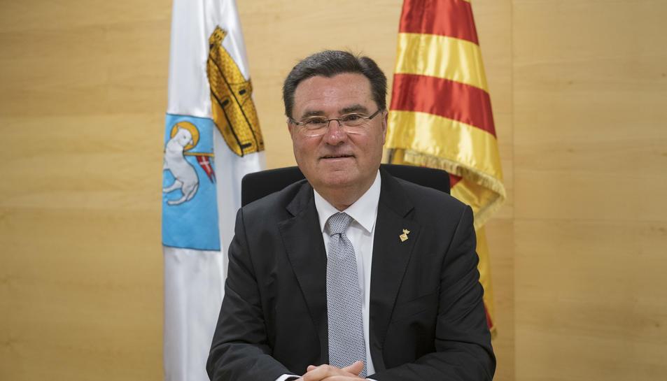 Joan Maria Sardà aplaudeix l'oferta esportiva al municipi