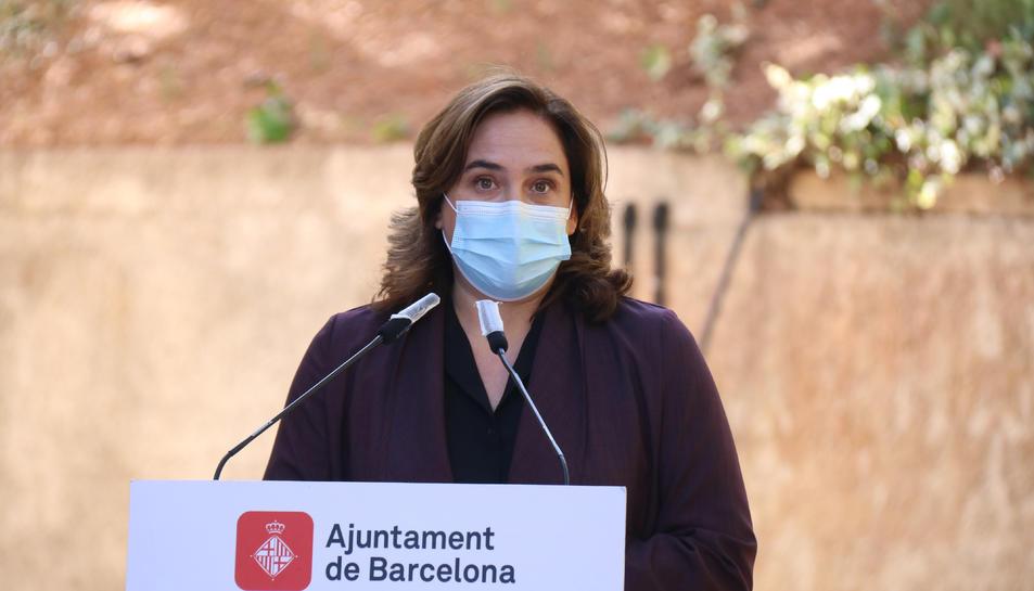 L'alcaldessa argumenta que alguns projectes «han costat d'arrencar» pel procés, l'atemptat a la Rambla i la pandèmia
