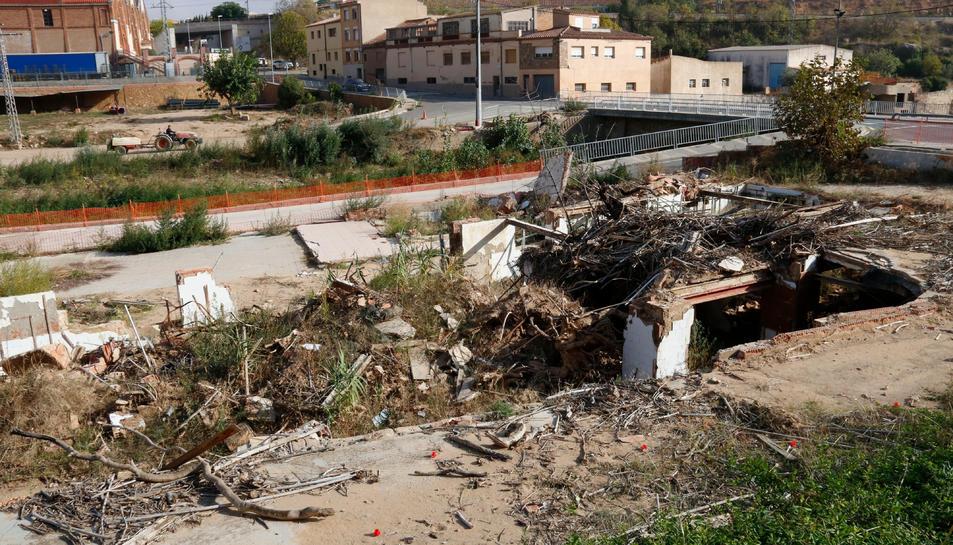 Montblanc i l'Espluga de Francolí encara esperen ajuts de l'Estat mentre habitatges i negocis es van refent dels danys