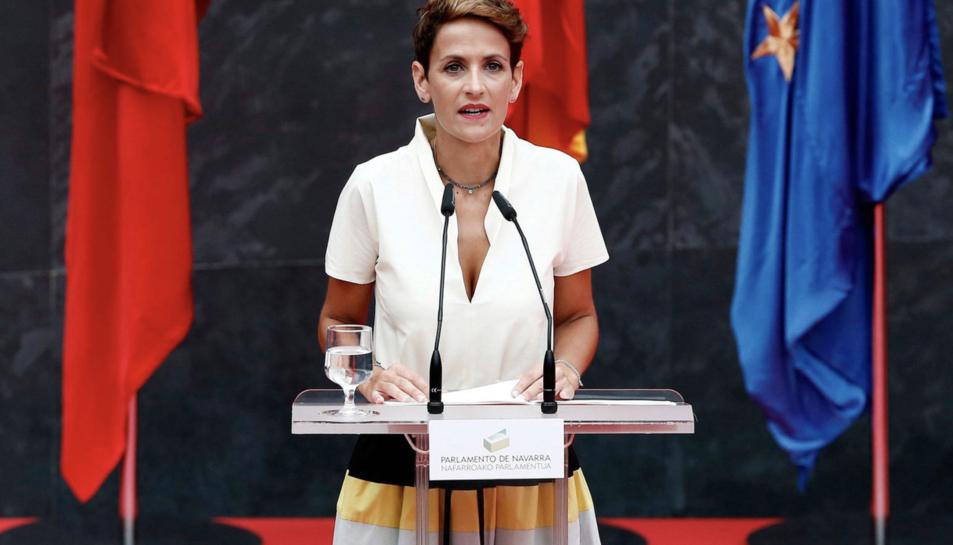 María Chivite en una imatge d'arxiu.
