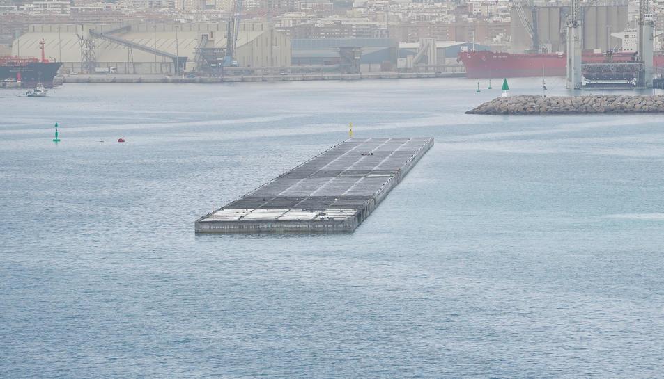 Imatge del moll de Balears del Port de Tarragona
