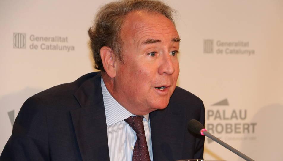 El president del CAC, Roger Loppacher.