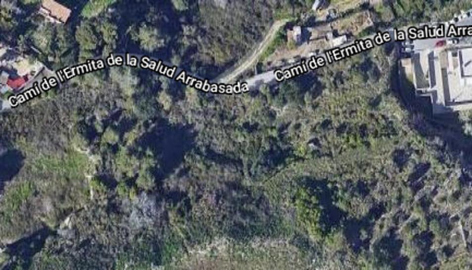 Imatge dels terrenys que costaria quasi 20 MEUR expropiar.