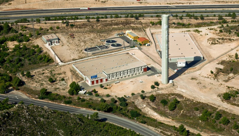 Planta de Bombament EB-2 del Consorci d'Aigües de Tarragona.