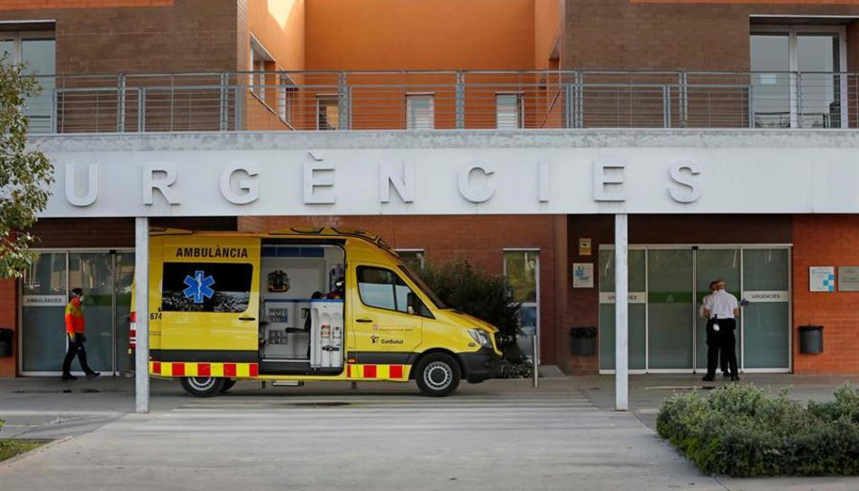 Vista del exterior del Hospital de Igualada.