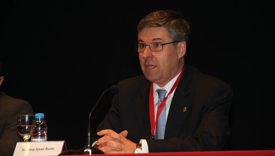 Josep Ignasi Boada, actual sostprefecte de la congregació.