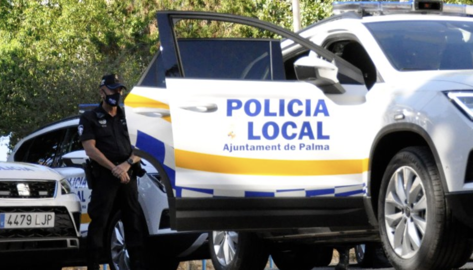 Imatge d'arxiu la Policia de Palma.