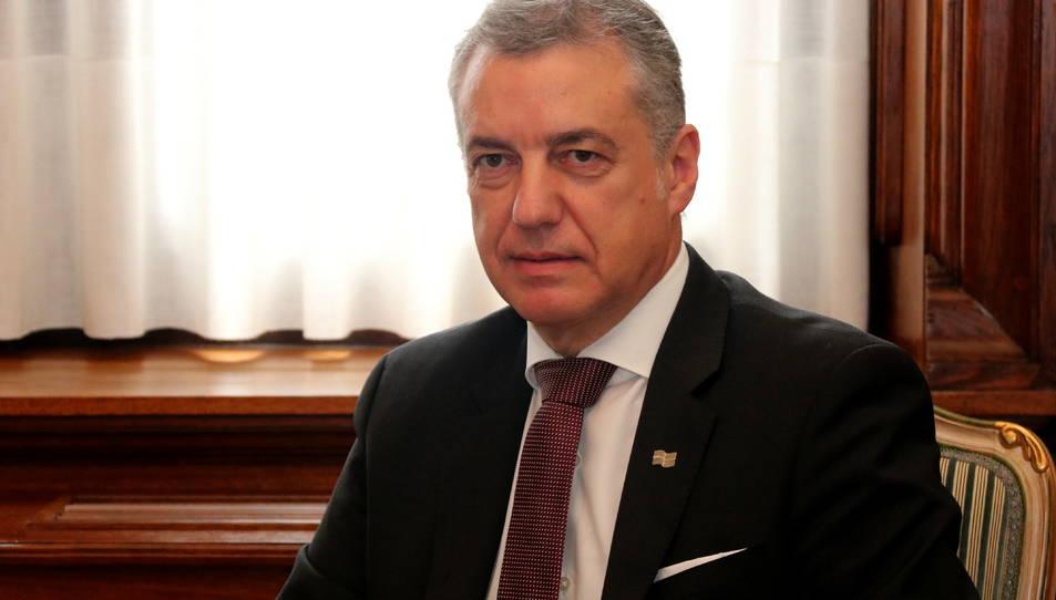 Pla curt del lehendakari Íñigo Urkullu.