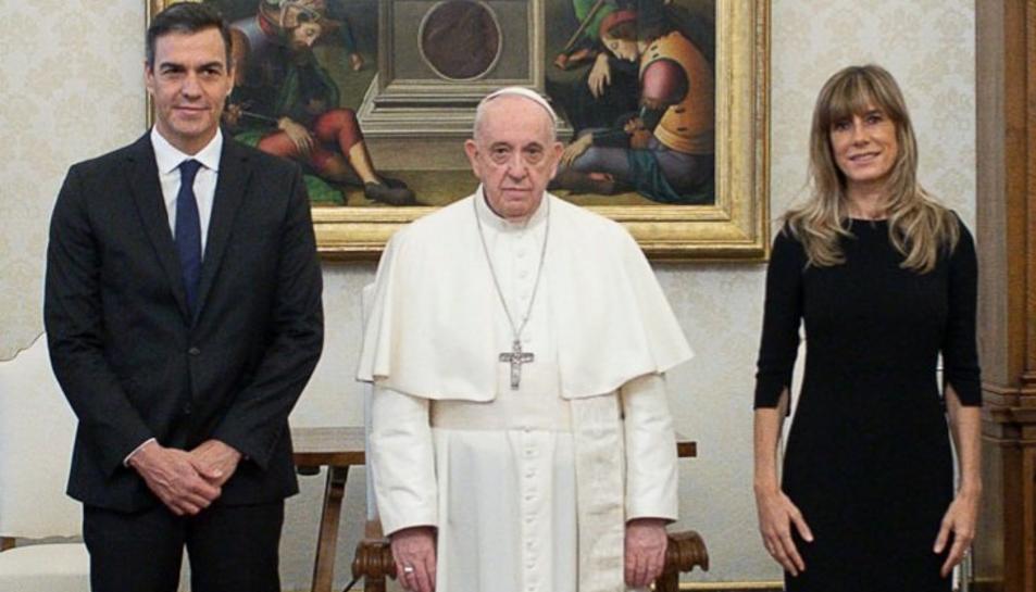 El president del govern espanyol ha traslladat al pontífex la voluntat de treballar «units»