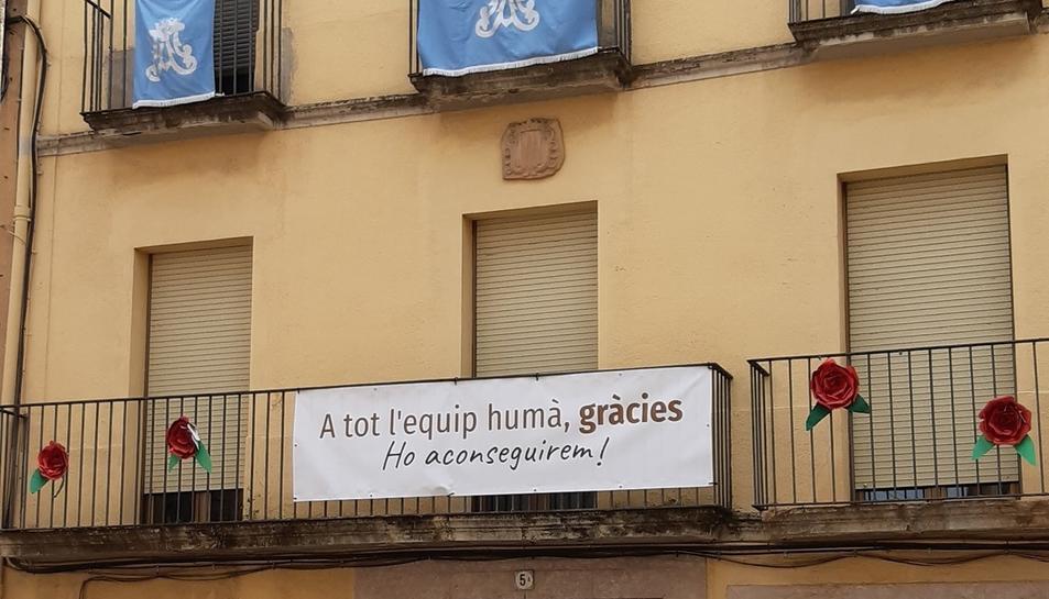 Imatge d'arxiu de la façana de la residència Monserrat Cuadrada