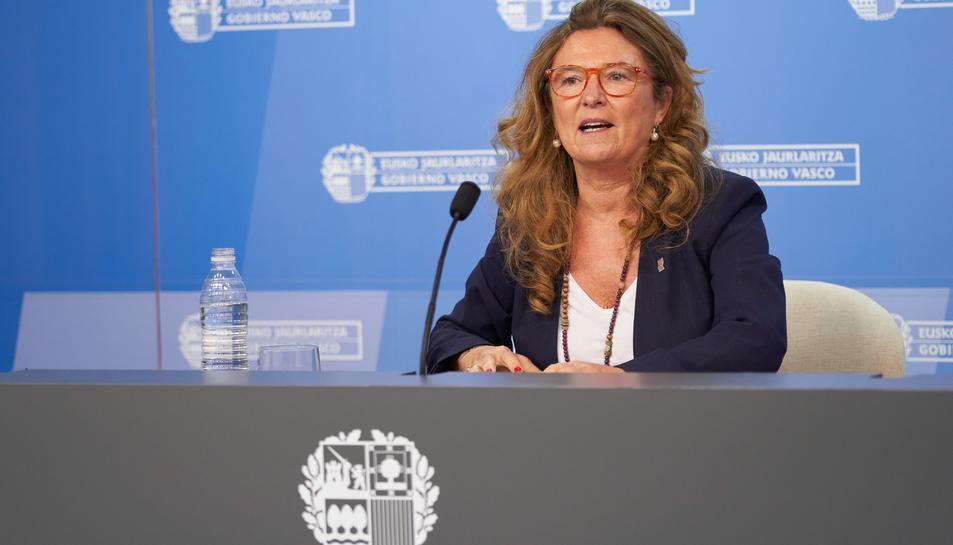 La consellera de Salut del Govern Basc, Gotzone Sagardui.