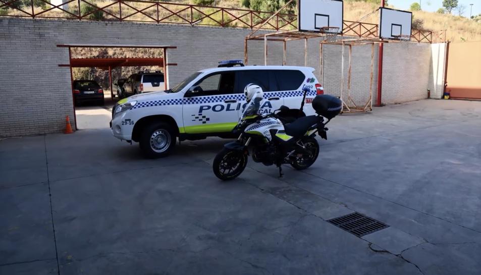 Imatge d'arxiu de la Policia Local de Màlaga.