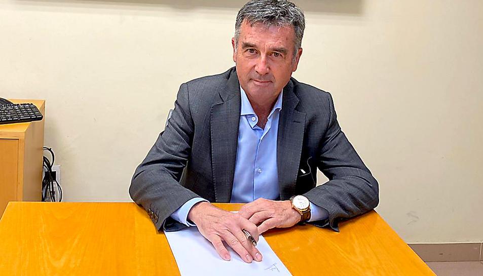 Jordi Cañellas és gerent del Cementiri de Tarragona.