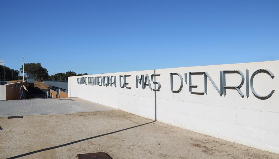 Imatge de l'entrada de Mas d'Enric.