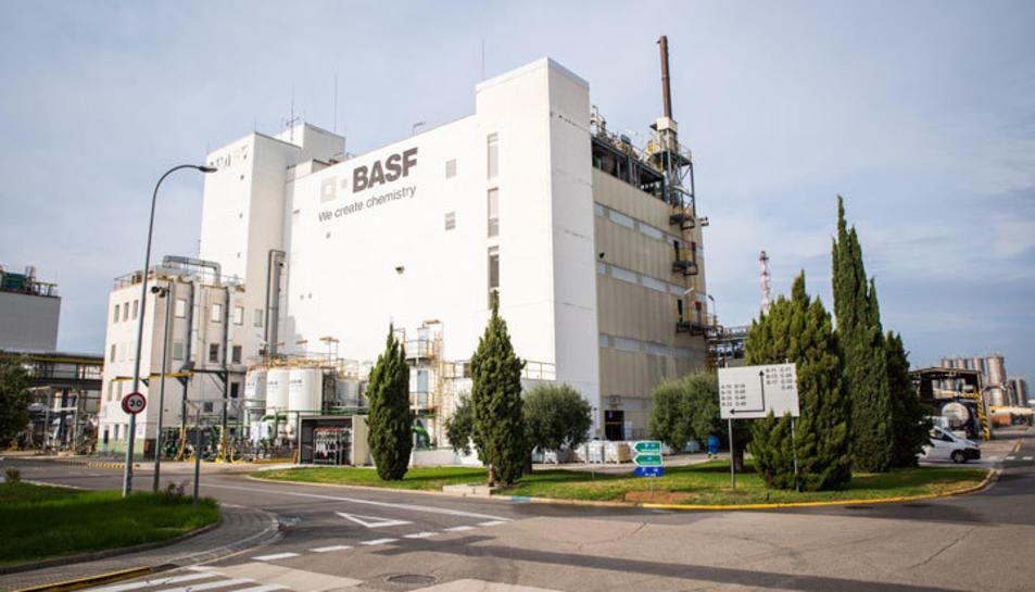 Imatge de la factoria de BASF a la Canonja, on s'aplicaran processos amb la nova tecnologia 5G.