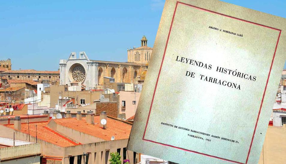 El llibre 'Leyendas históricas de Tarragona'.