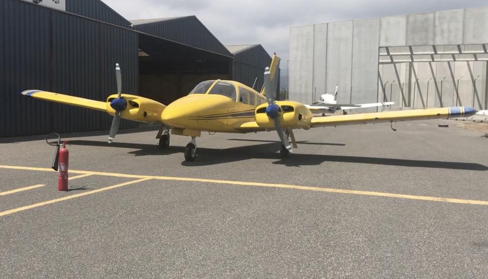 Imatge d'arxiu de l'avió de l'Aeroclub de Reus que estan buscant.