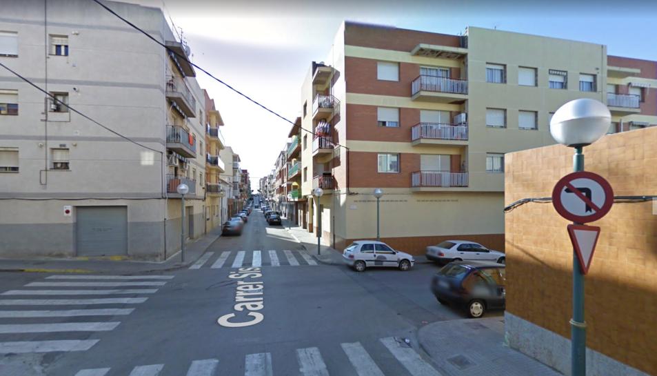 Imatge del carrer Sis de Bonavista.