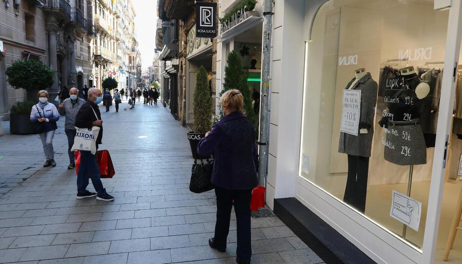 Els botiguers de Reus es mostren optimistes davant del Black Friday i la campanya de Nadal.