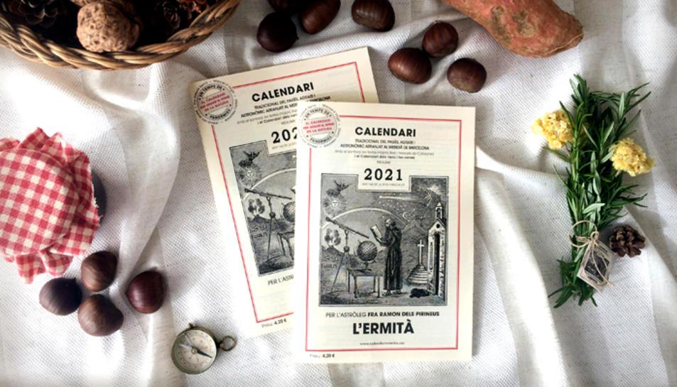 Portada del calendari de tradició i cultura popular per a tot l'any.