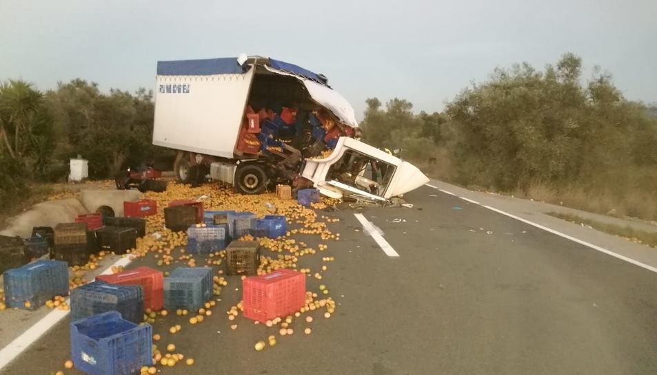 Imatge del camió.