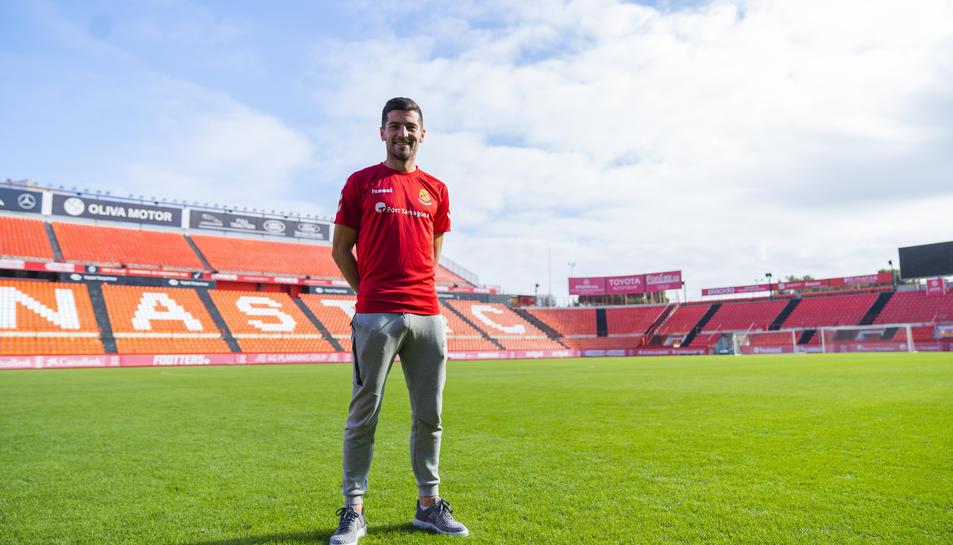 Bonilla s'ha convertit en un futbolista indiscutible per a Toni Seligrat, que aquesta temporada el situa en el centre del camp.