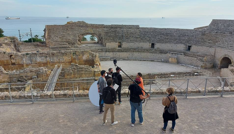 Moment de la gravació del programa a Tarragona.