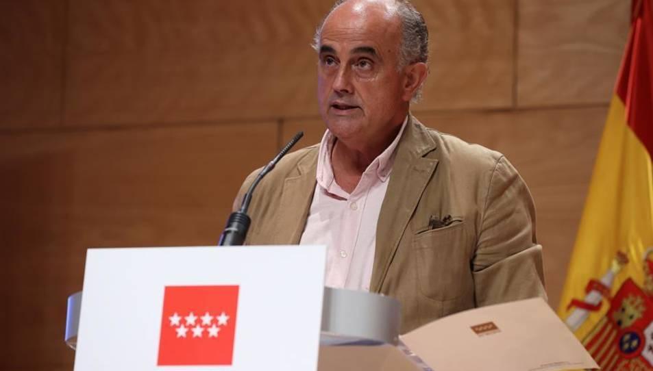 El viceconseller de Salut Pública i Pla COVID-19, Antonio Zapatero.