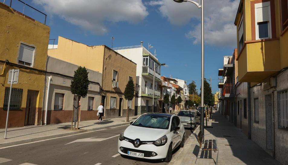 El barri compta amb prop de 300 habitatges.