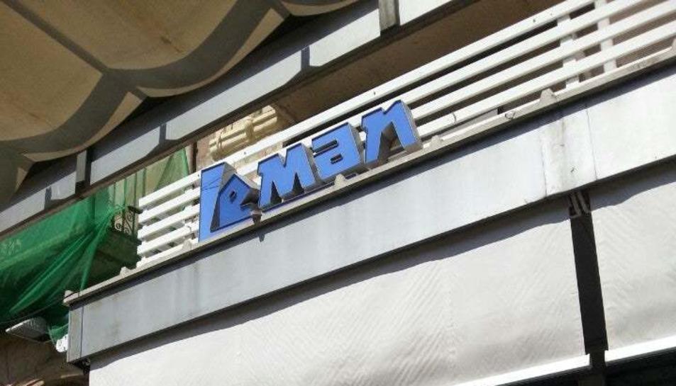 Imatge de l'antic Leman, que des del 1961 fins el 2014 va estar obert a la Rambla Nova.