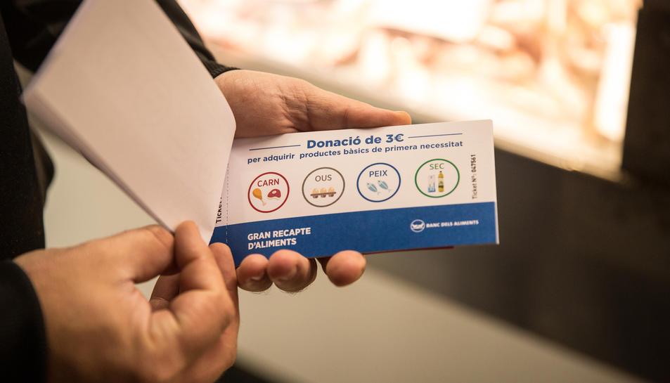 S'han venut 834 tiquets per valor de 3 euros cadascun.