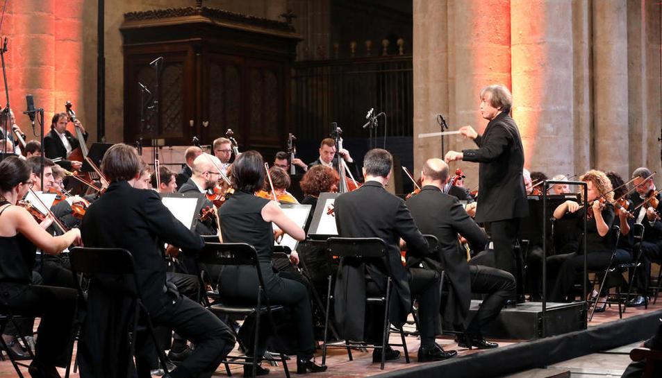El gran concert dels Jocs Mediterranis, a la Catedral.
