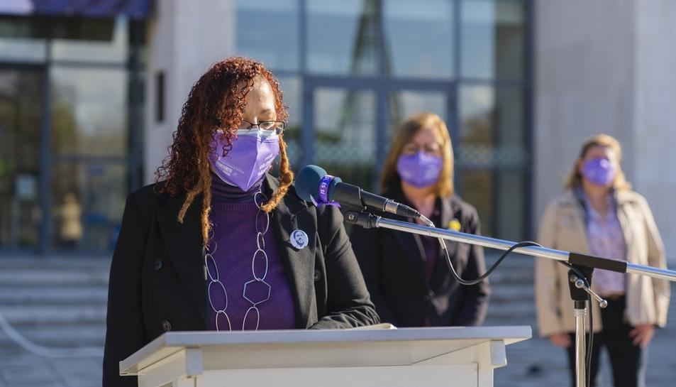Manifest contra la violencia masclista a Cambrils