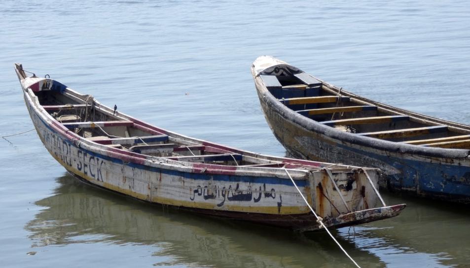 Els pescadors afectats acusen un vaixell no identificat que hauria abocat productes químics al mar.