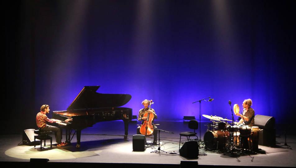 Concert de Marco Mezquida a la Fira Mediterrània de Manresa.
