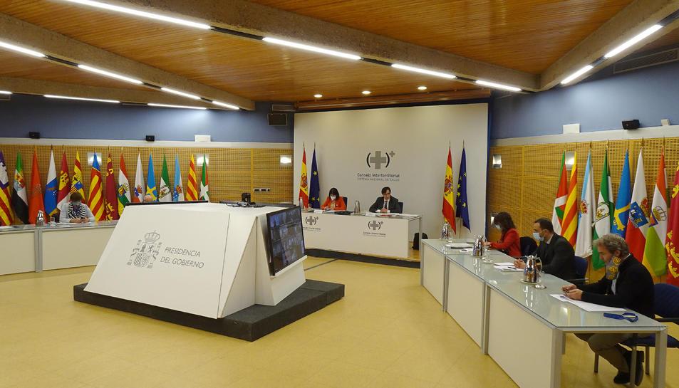 Pla general de la reunió del Consell Interterritorial de Salut.