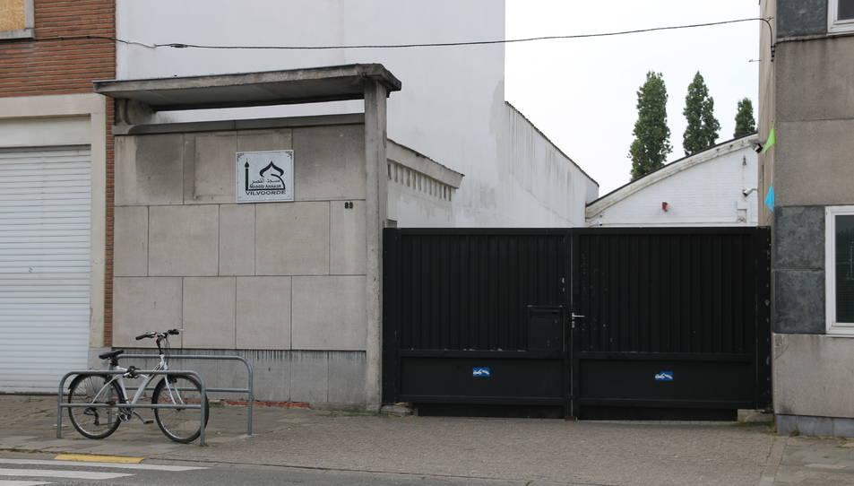 Mesquita de Vilvoorde, la localitat on va residir l'imam de Ripoll, Abdelbaki Es Satty, els mesos que va viure a Bèlgica.