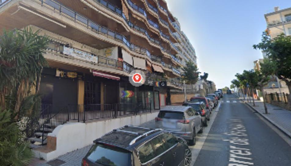 Imatge del número 11 del carrer Brussel·les de Salou on ha tingut lloc l'incendi