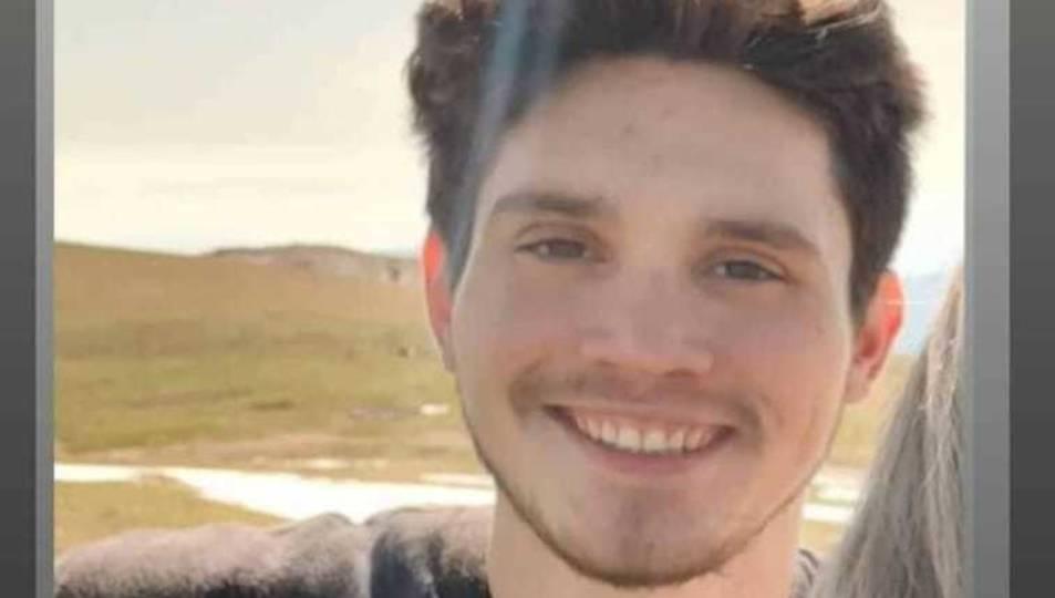 Imatge d'arxiu d'en Miquel, el jove que porta desparegut des del 27 de novembre
