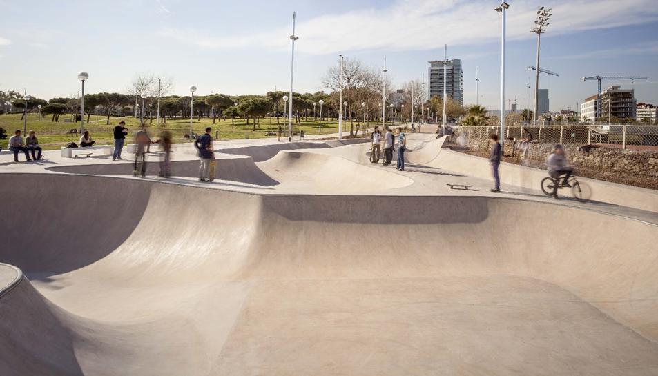 Un dels parcs dissenyats per l'empresa adjudicatària amb una concepció similar al que tindrà Reus.