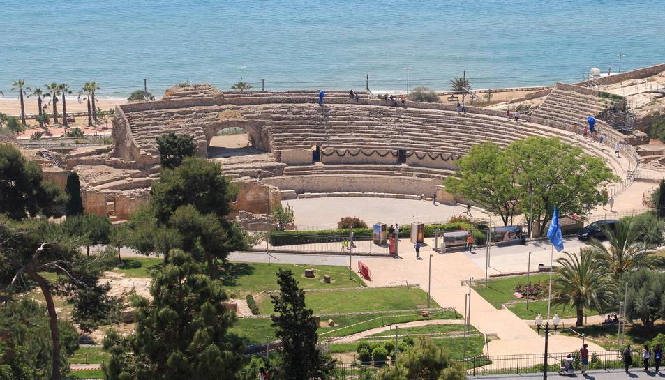 Pla general de l'amfiteatre de Tarragona