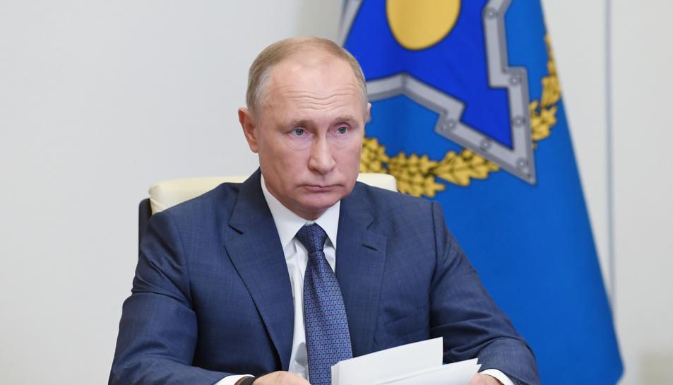 El president de Rússia, Vladímir Putin.