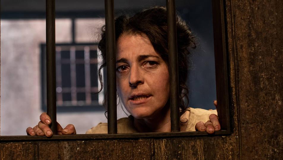 Nora Navas a 'La Vampira de Barcelona', dirigida per Lluís Danés.