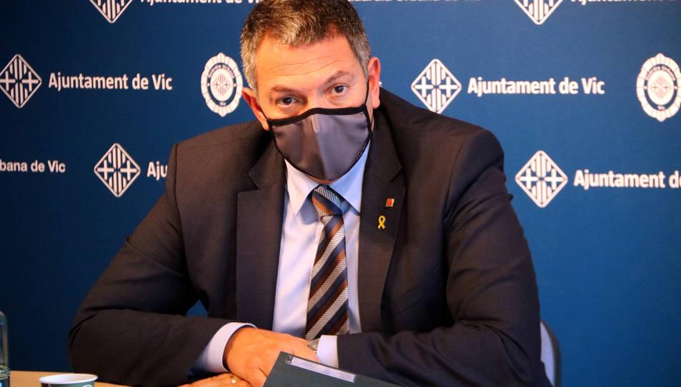 El conseller d'Interior, Miquel Sàmper.