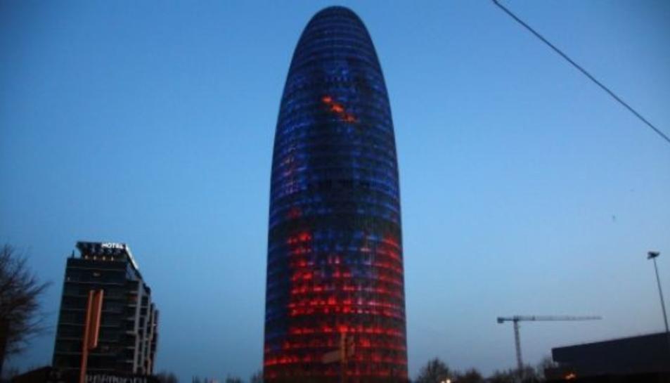 Imatge d'arxiu de la Torre Glòries de Barcelona