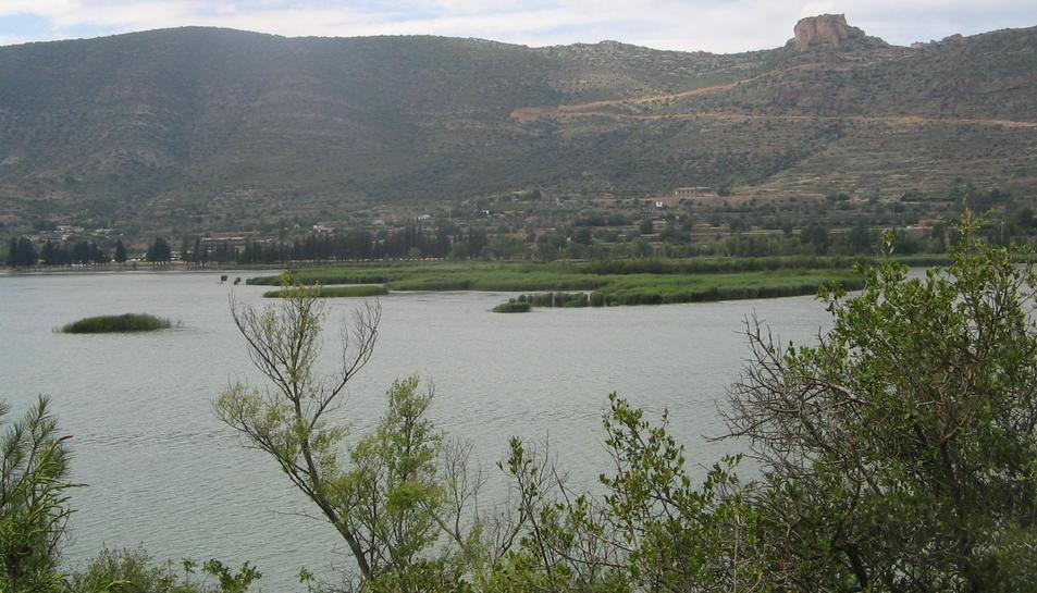 Imatge d'arxiu del pantà de Sant Llorenç de Montgai