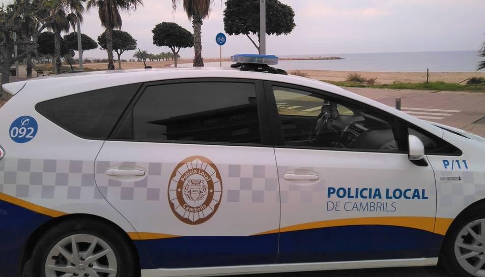 Imatge d'arxiu d'un vehicle de la Policia de Cambrlls.