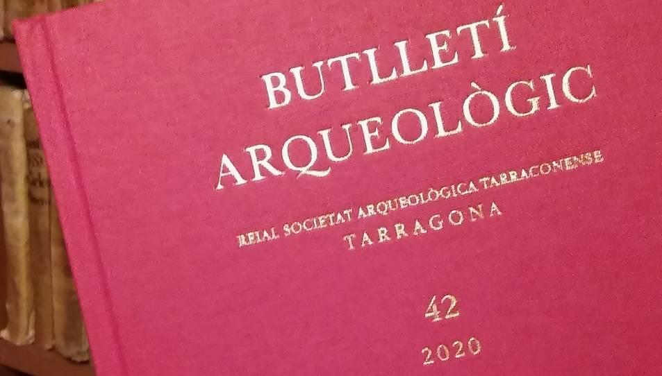 Imatge del 42è Butlletí Arqueològic de la RSAT.